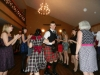 Audience danced into the evening to piping and fiddling